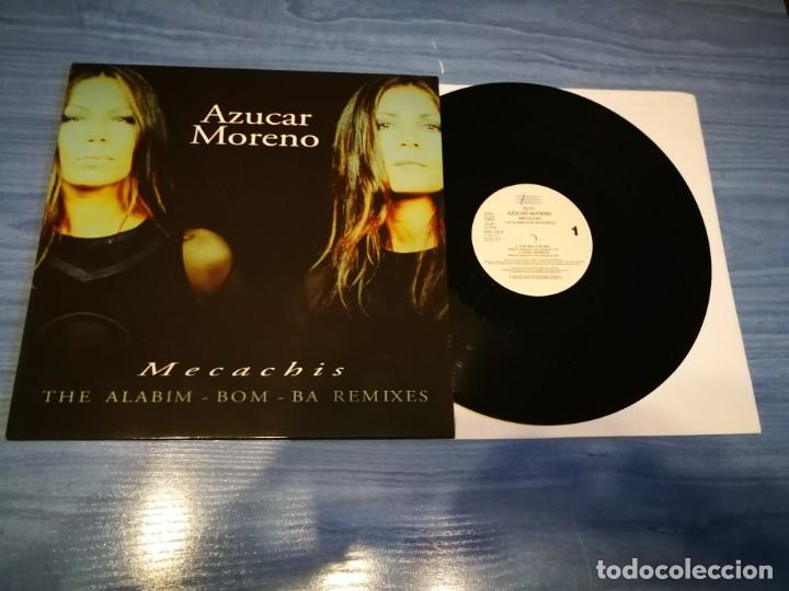 AZUCAR MORENO THE ALABIM-BOM-BA REMIXES MAXI SINGLE VINILO 1998 CONTIENE 5 TEMAS ASAP MUY RARO (Música - Discos de Vinilo - Maxi Singles - Grupos Españoles de los 90 a la actualidad)