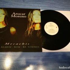 Discos de vinilo: AZUCAR MORENO THE ALABIM-BOM-BA REMIXES MAXI SINGLE VINILO 1998 CONTIENE 5 TEMAS ASAP MUY RARO. Lote 213730853