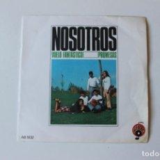 Discos de vinilo: NOSOTROS, SINGLE, PROMOCIONAL, VUELO FANTASTICO / PROMESAS. ALBA 1971. Lote 213735031