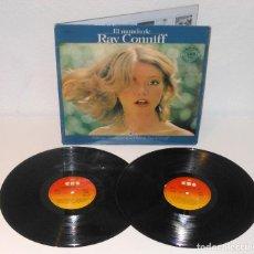 Discos de vinilo: EL MUNDO DE RAY CONNIFF 2X LP SPAIN 1977 CBS S 88283 MODEL COVER. Lote 213735338