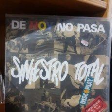 Discos de vinilo: SINIESTRO TOTAL DE HOY NO PASA MAXIS PARA COLECCIONISTAS. Lote 213736630