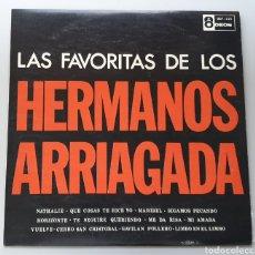 Discos de vinilo: LP HERMANOS ARRIAGADA - LAS FAVORITAS DE H. ARRIAGADA (VENEZUELA - ODEON - 1964) NUEVO INMACULADO!!. Lote 213744430