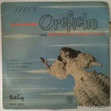 Discos de vinilo: ARMANDO OREFICHE & HIS HAVANA CUBAN BOYS. LA GUAJIRA/ CUBANO SOY Y TROPICAL/ BATANGA/ CUANTO ME ALEG. Lote 213745257
