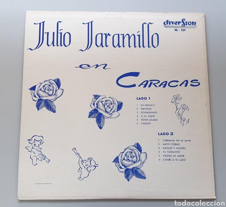 Discos de vinilo: LP JULIO JARAMILLO - En Caracas (Venezuela - Diversion - 1960) NUEVO IMPECABLE!! - Foto 2 - 213745901