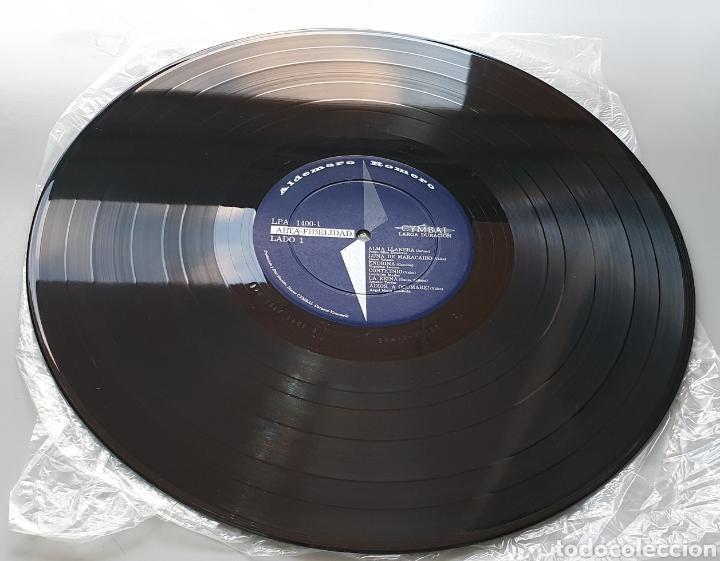 Discos de vinilo: LP ALDEMARO ROMERO & HIS SALON ORCHESTRA - Caracas at dinner time (Venezuela - Cymbal - 1959) NUEVO! - Foto 3 - 213750791