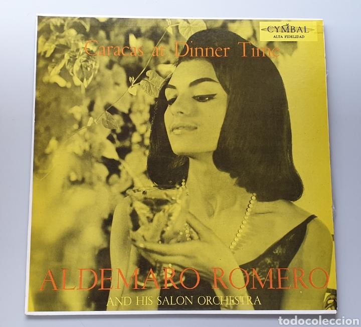 LP ALDEMARO ROMERO & HIS SALON ORCHESTRA - CARACAS AT DINNER TIME (VENEZUELA - CYMBAL - 1959) NUEVO! (Música - Discos - LP Vinilo - Grupos y Solistas de latinoamérica)