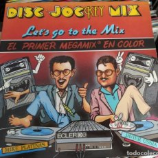Discos de vinilo: MIKE PLATINAS, JAVIER USSIA ‎– DISC·JOCKEY MIX (LET'S GO TO THE MIX) (D:VG+). Lote 213754575