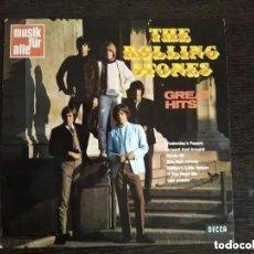 Disques de vinyle: ROLLING STONES - GREAT HITS (LP) 1969 GERMANY.. Lote 213756291