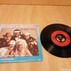 Discos de vinilo: VILLAGE PEOPLE. IN THE NAVY. MANHATTAN WOMAN.. Lote 213756748