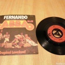 Discos de vinilo: ABBA. FERNANDO. TROPICAL LOVELAND.. Lote 213757970