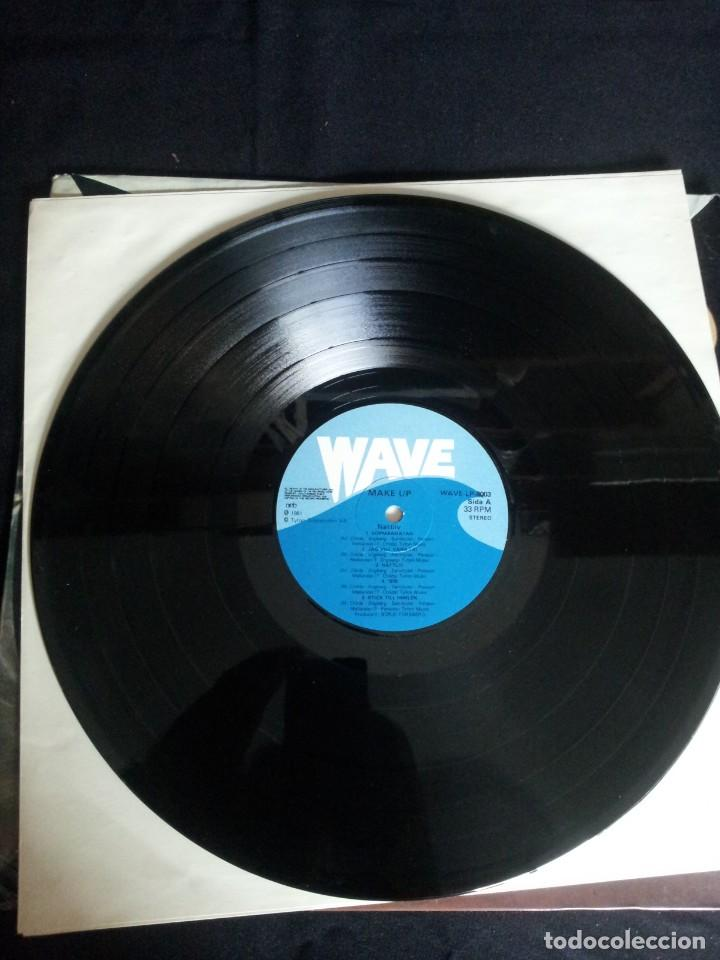 Discos de vinilo: MAKE UP - LP, NATTLIV - WAVE 1981 - Foto 3 - 213765563