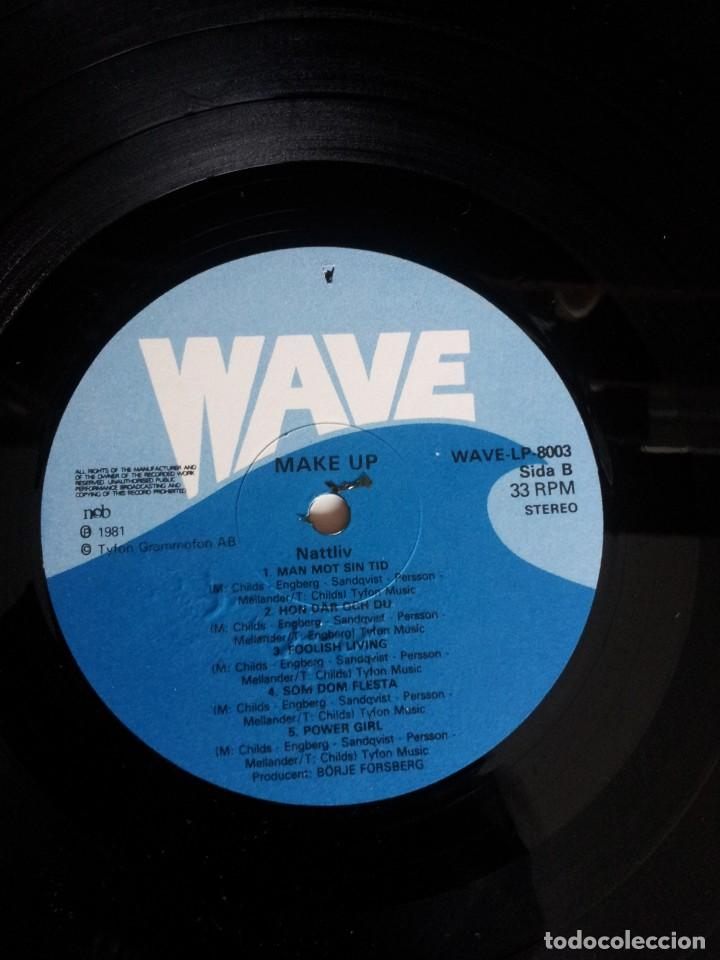 Discos de vinilo: MAKE UP - LP, NATTLIV - WAVE 1981 - Foto 6 - 213765563
