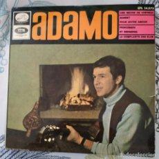 Discos de vinilo: EP / ADAMO: UNE MECHE DE CHEVEUX / SONNET POUR NOTRE AMOUR / LA COMPLAINTE DES ELUS / PRINCESSES 196. Lote 213765638