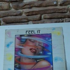 Discos de vinilo: FEEL IT - FEELABEELIA. Lote 213778943