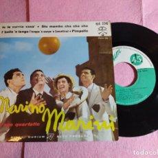 """Discos de vinilo: 7"""" MARINO MARINI ED IL SUO QUARTETTO – STU MAMBO CHA CHA CHA + 3 ITALY EP (EX-/EX-). Lote 213780078"""