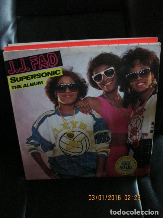 J.J. FAD ?– SUPERSONIC - THE ALBUM (Música - Discos - LP Vinilo - Rap / Hip Hop)