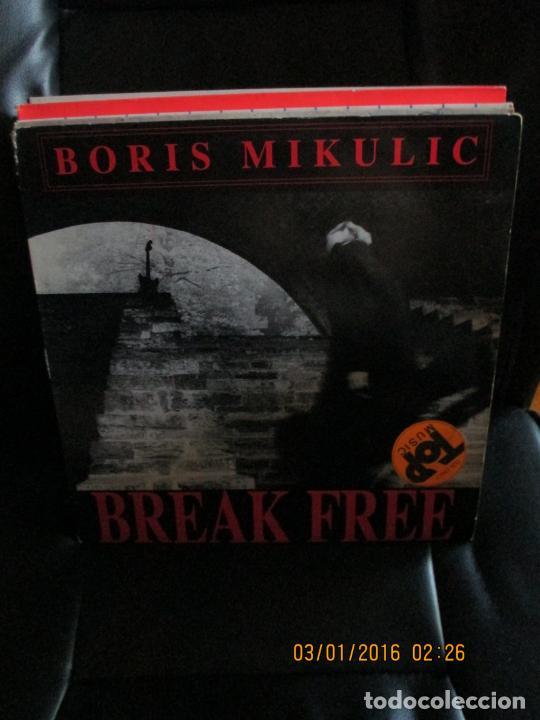 BORIS MIKULIC ?– BREAK FREE (Música - Discos de Vinilo - Maxi Singles - Techno, Trance y House)
