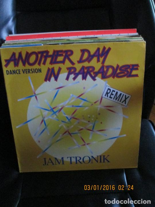JAMTRONIC* ?– ANOTHER DAY N PARADISE (Música - Discos de Vinilo - Maxi Singles - Techno, Trance y House)