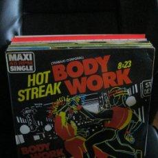 Discos de vinilo: HOT STREAK ?– BODY WORK = TRABAJO CORPORAL. Lote 213787265