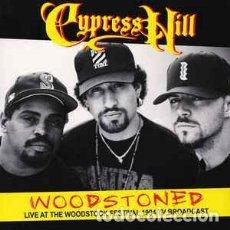 Discos de vinilo: CYPRESS HILL – WOODSTONED: LIVE AT THE WOODSTOCK FESTIVAL 1994 TV BROADCAST -LP-. Lote 213789486