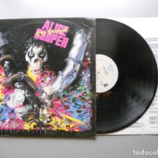 Discos de vinilo: ALICE COOPER (2) – HEY STOOPID LP 1991 VG/G+ INCLUYE ENCARTE CON LETRAS.. Lote 213791428