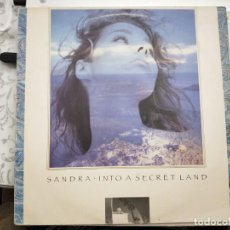 Discos de vinilo: SANDRA - INTO A SECRET LAND (LP, ALBUM) 1988. SELLO:VIRGIN CAT. Nº: T-209371. Lote 213795610