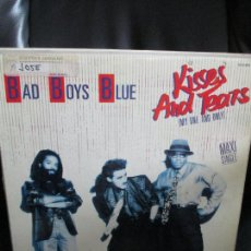 Discos de vinilo: BAD BOYS BLUE ?– KISSES AND TEARS (MY ONE AND ONLY). Lote 213796408