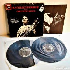 Discos de vinilo: KATHLEEN FERRIER ORFEO ED EURIDICE ALBUM 2 VINILOS. Lote 213797205
