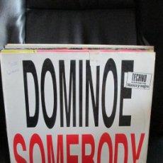 Discos de vinilo: DOMINOES ?– SOMEBODY. Lote 213798070