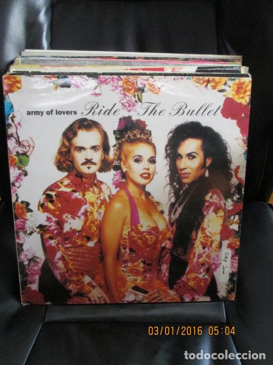 ARMY OF LOVERS ?– RIDE THE BULLET (Música - Discos de Vinilo - Maxi Singles - Techno, Trance y House)