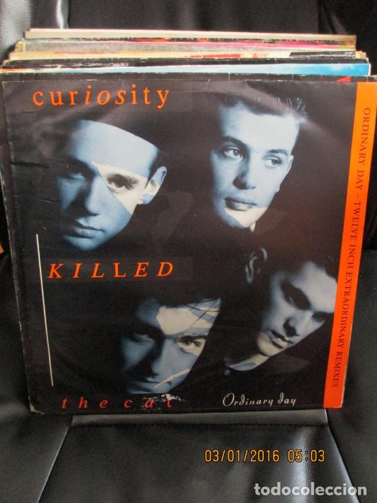 CURIOSITY KILLED THE CAT ?– ORDINARY DAY (TWELVE INCH EXTRAORDINARY REMIXES) (Música - Discos de Vinilo - Maxi Singles - Electrónica, Avantgarde y Experimental)
