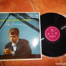 Discos de vinilo: VAN CLIBURN MI FAVORITO CHOPIN LP VINILO DEL AÑO 1983 ESPAÑA CONTIENE 8 TEMAS. Lote 213805595
