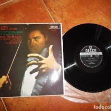 Discos de vinilo: FRUHBECK DE BURGOS & NATI MISTRAL EL AMOR BRUJO FALLA LP VINILO DEL AÑO 1967 ESPAÑA CONTIENE 4 TEMAS. Lote 213807560