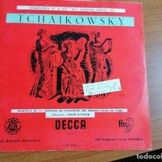 Discos de vinilo: LP TCHAIKOWSKY SINFONIA 4 KLEIBER LXT 2511 (TIRADA 500 UD). Lote 213807687