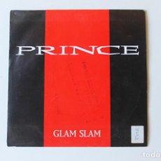 Discos de vinilo: PRINCE, SINGLE, GLAM SLAM, PROMOCIONAL 1988. Lote 213808390