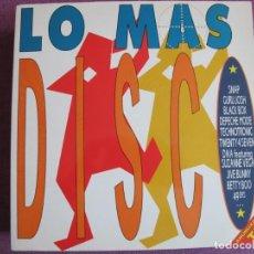 Disques de vinyle: LP - LO MAS DISCO - VARIOS (DOBLE DISCO, SPAIN, ARIOLA RECORDS 1990). Lote 213808575