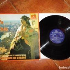 Discos de vinilo: LA DEL SOTO DEL PARRAL FRUHBECK DE BURGOS LP VINILO LIBRO DEL AÑO 1970 ESPAÑA CONTIENE 9 TEMAS. Lote 213809343