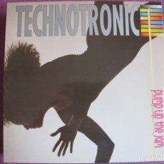 Disques de vinyle: LP - TECHNOTRONIC - PUMP UP THE JAM (SPAIN, MAX MUSIC 1989). Lote 213810940