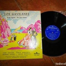 Discos de vinilo: LOS GAVILANES JACINTO GUERRERO JOSE RAMOS MARTIN LP VINILO DEL AÑO 1962 ESPAÑA ATAULFO ARGENTA. Lote 213812830