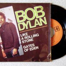Discos de vinilo: BOB DYLAN.LIKE A ROLLING STONE + 1...EX. Lote 213818312