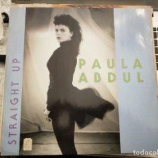 "Discos de vinilo: PAULA ABDUL - STRAIGHT UP (12"", SINGLE) 1989.SELLO:SIREN (3) CAT. Nº: SRNT 111. VINILO NUEVO. Lote 213820696"