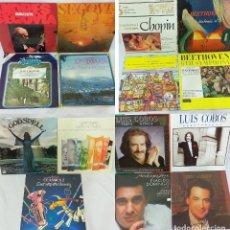 Discos de vinilo: LOTE 15 LP DE MÚSICA CLÁSICA, CONCIERTO Y ZARZUELA (OBRAS E INTÉRPRETES EN LAS FOTOGRAFÍAS). Lote 213826305