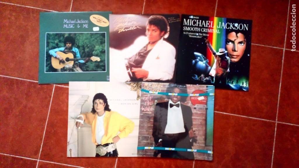 Discos de vinilo: LOTE DISCOS VINILO MICHAEL JACKSON Y JACKSON FIVE - Foto 2 - 213826396