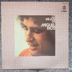 Discos de vinilo: MIGUEL RIOS - LO MEJOR. EDITADO POR HISPAVOX. AÑO 1.973. Lote 213826442