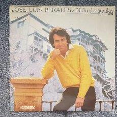 Discos de vinilo: JOSÉ LUIS PERALES - NIDO DE ÁGUILAS. EDITADO POR HISPAVOX. AÑO 1.981. Lote 213827163