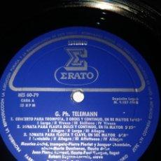 Discos de vinilo: G.PH.TELEMANN. Lote 213828611