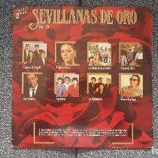 Discos de vinilo: SEVILLANAS DE ORO VOL. 19. L.P. DOBLE (2 DISCOS) EDITADO POR HISPAVOX. AÑO 1.989. Lote 213847673