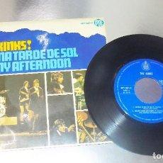 Discos de vinilo: THE KINKS ----SUNNY AFTERNOON + 3 --ORIGINAL AÑO 1966 ***COL*** ( VG++ ). Lote 182489268