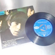 Discos de vinilo: THE ROLLING STONES --- 19TH NERVOUS BREAKDOWN & AS TEARS GO BY +2 -- VINILO ( NM OR M- ) FUNDA VG+. Lote 193437526