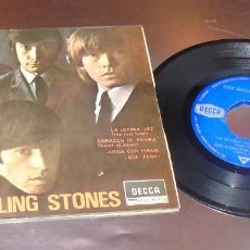 Discos de vinilo: THE ROLLING STONES -- THE LAST TIME & HEART OF STONE +2 --------- ( NM OR M- ). Lote 204313067